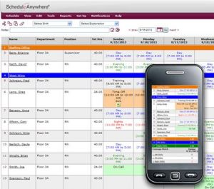 ScheduleAnywhere.com Hospital Scheduling Software