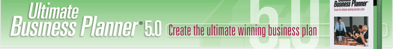 Create the ultimate winning business plan with Ultimate Business Planner