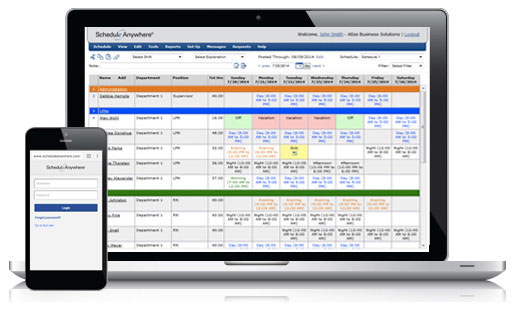 Employee Scheduling, Appointment Scheduling, and HR Software